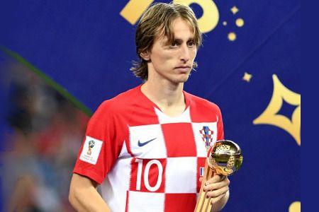 Luka Modric se lleva el Balón de Oro