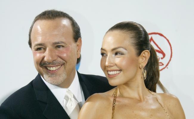 Thalía y Tommy Mottola celebran 18 años de casados