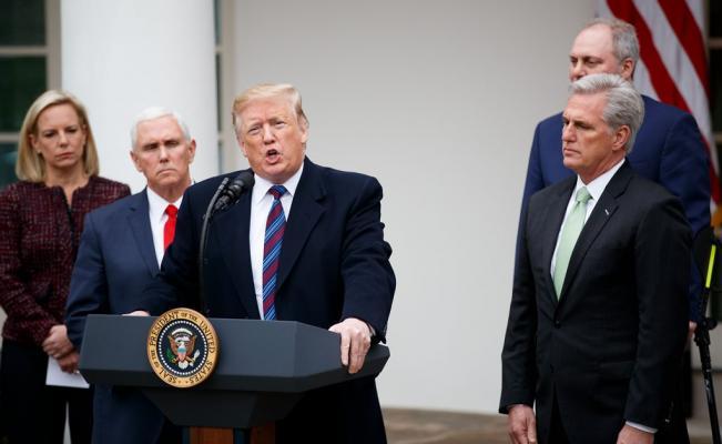 Ahora planeamos un muro de acero en lugar de concreto: Trump