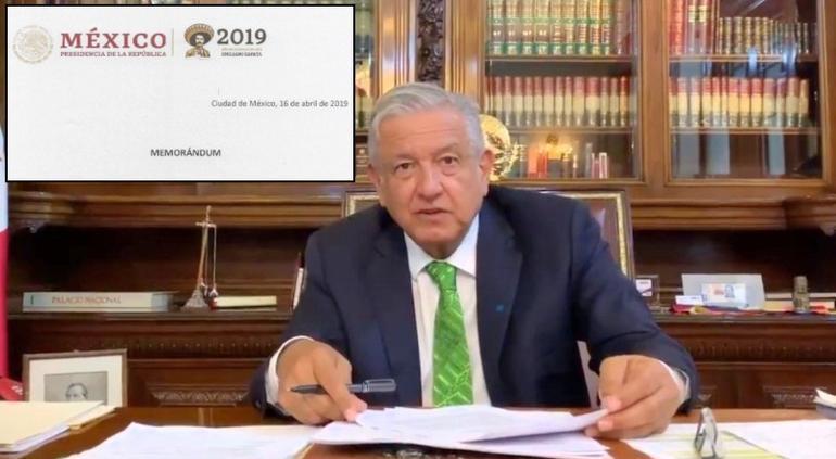 Presidente firma orden para frenar reforma educativa